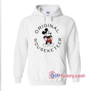 Mickey Mouse Hoodie – Original Mickey Mouseketeer Hoodie – Funny Disney Hoodie