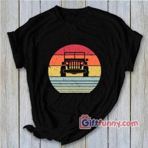 Off Road Shirt Retro Style 4X4 T-Shirt – Funny Shirt