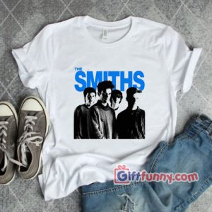 The Smiths T-Shirt – The Queen is Dead Morrissey Meat is Murder Rock Punk Vintage T-Shirt
