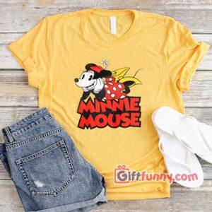 Vintage Disney Shirt – Minnie Mouse Shirt – Funny Disney Shirt