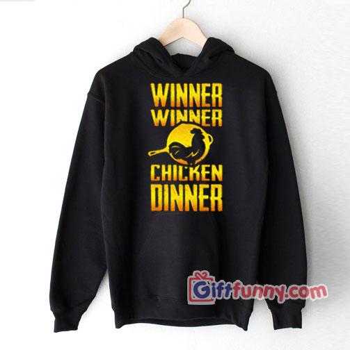 PUBG Hoodie – Winner Winner Chicken Dinner Hoodie – Funny Hoodie
