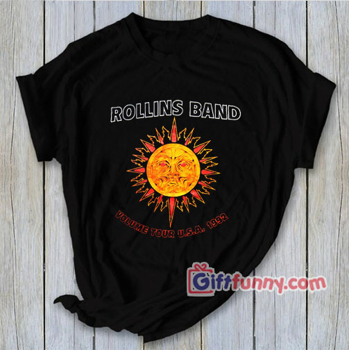 Vintage Rollins Band T Shirt circa 1992 – Funny Coolest Shirt – Funny Gift