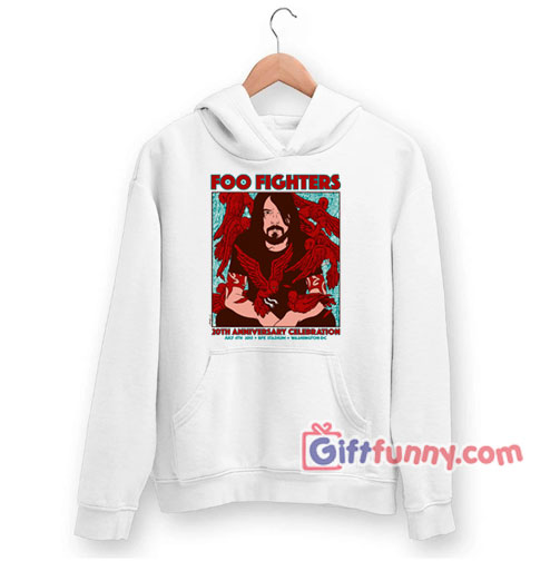 Foo fighters 20th anniversary celebration Hoodie – Funny Coolest Hoodie – Funny Gift