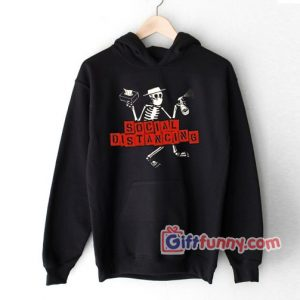 Social Distancing DistortionHoodie – Funny Coolest Hoodie – Funny Gift