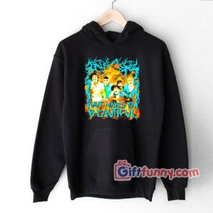 Heavy Metal One Direction Parody Hoodie