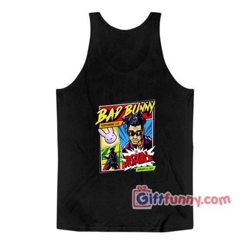 Bad Bunny Royal Rumble Tank Top