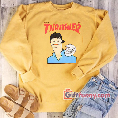 Gonz Cover Thrasher Sweatshirt