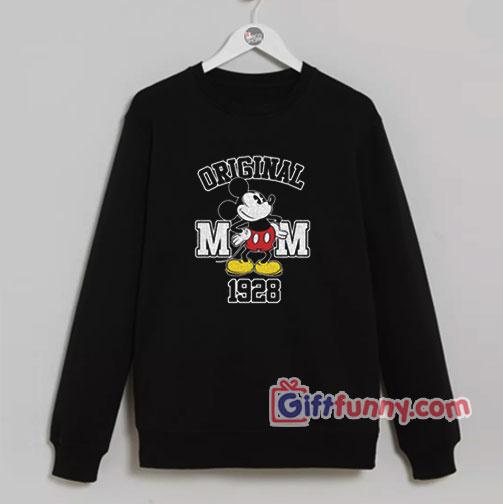ORIGINAL MICKEY MOUSE 1928 Sweatshirt
