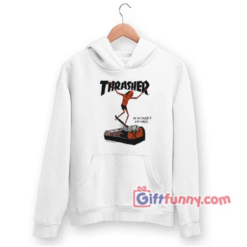 Thrasher Neckface Logo Coffin Hoodie