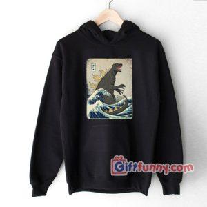 The Great Godzilla off Kanagawa Hoodie 300x300 - Gift Funny Coolest Shirt