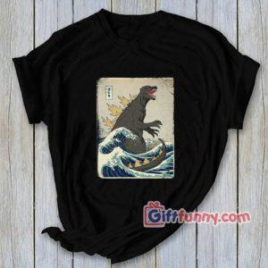 The Great Godzilla off Kanagawa Shirt 300x300 - Gift Funny Coolest Shirt