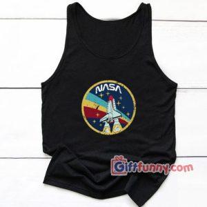 Vintage NASA Space Agency Tank Top